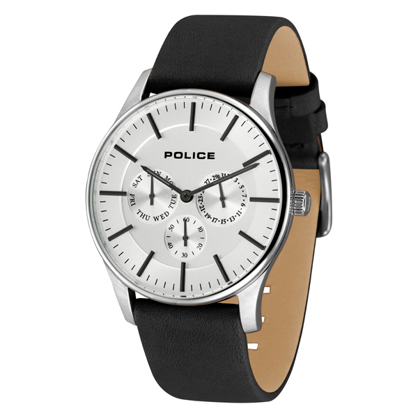POLICE(ポリス)腕時計 COURTESYコーテシー ホワイト/シルバー【14701JS-01】