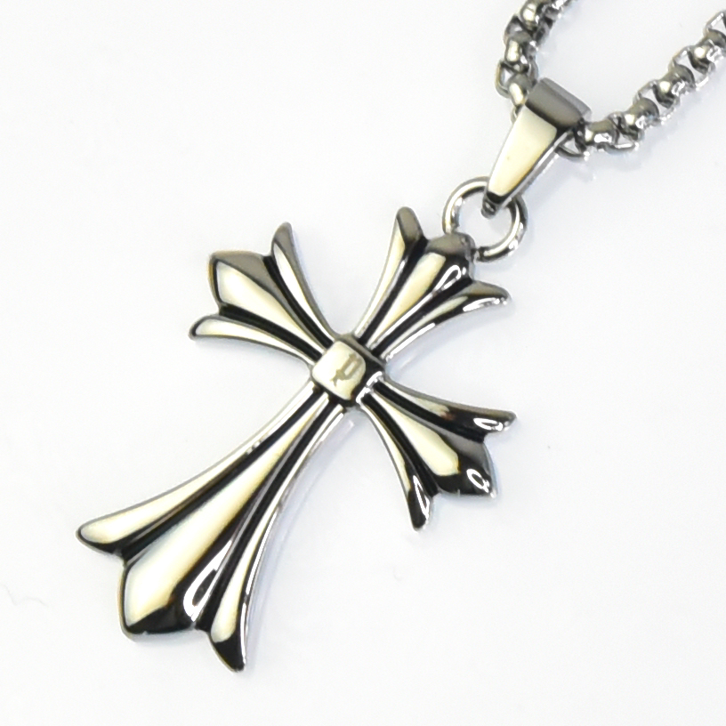 POLICE(ポリス)ネックレス 十字架 GRACE(ボーイズサイズ)【25990PSS01】